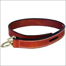 Hilason Western Tack Horse Chestnut Leather Quick Release Rope U-1CHN - $11.95