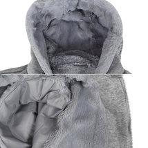 EKZ Men's Graphic Geo Tribal Fleece Lined Zip Up Sherpa Hoodie Jacket image 13