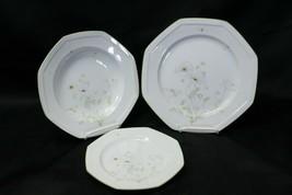 Mikasa Poppy Sunday Lot of 9 Plates Bowls Dinner Bread - $54.87