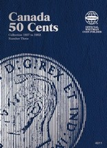 Canada 50 Cents No. 3, 1937-1952, Whitman Coin Folder - $5.75