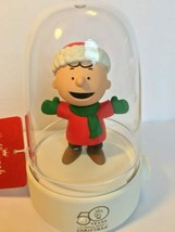 Hallmark 2015 Peanuts Happy Tappers 50 Years Charlie Brown ChristmasChar... - $39.99