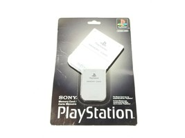 Playstation PS1 Sony Memory Card New and Factory Sealed (Back Cover Damage) - $84.77 CAD