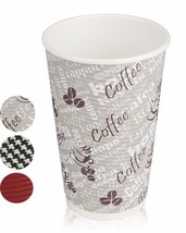 Quality Disposable Hot Coffee Insulated Cups By Golden Spoon – 50 Pack –... - $18.15