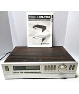 Hitachi HTA-7000 Wood Grain AM/FM Stereo Tuner Amplifier w/ Manual Tested - $299.99