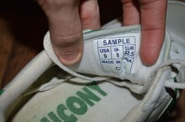 Vintage Jazz 1993 Up Lace Mens RARE SAUCONY Casual 1993 White Shoes 9 SAMPLE Zw6TBZq