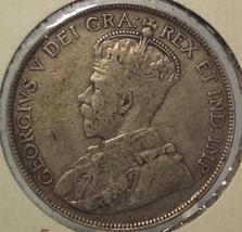 1919-C Newfoundland Silver 50c F+ #0438 - $11.99