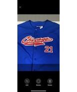Vintage Chicago Cubs Sammy Sosa Mens Large Sport Attack Jersey 2000 - $33.43