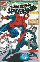 Amazing Spiderman #358 ORIGINAL Vintage 1992 Marvel Comics Punisher Moon... - $19.79