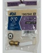 Blue Hawk 0457948 P2C Removable Brass Fitting Coupling Lead Free - £5.94 GBP