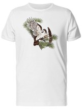 Colored Drawing Of A Hawk Men's Tee -Image by Shutterstock - $12.86+