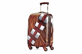 "Star Wars 21"" Hardside Carry-On R2D2 Vader Chewy Trooper C3P0 Boba Fett BB8 - $139.99"