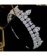 High-end bridal hair accessories, simple headband, wedding hair accessor... - $125.27