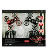 Quadcopter Laser Battle Drones 2-Pack Red/Black Indoor/Outdoor   Propel Brand - $29.58