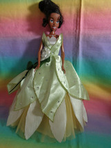 Mattel Barbie Disney First Release Wedding Princess and the Frog Tiana D... - $29.67