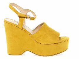 Keilschuhe GUESS FLKRL2 G in giallo gämse - Schuhe Damen - $62.16