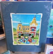 Disney WonderGround Mickey & Minnie Mouse Meet You At Main St. Print Joe... - $75.98