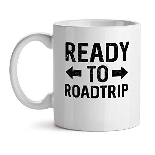 Ready To Roadtrip Travel Tour - Mad Over Mugs - Inspirational Unique Popular Off