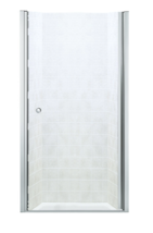 "Sterling Finesse 32-3/4""x65.5"" Frameless Shower Door in Silver w Handle ... - $123.73"