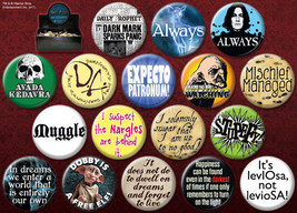 Harry Potter Movies Metal Photo Button Assortment of 144 Series 4 NEW BOXED - $135.44