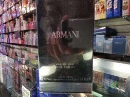 ARMANI eau de nuit pour homme by Giorgio Armani 3.4 oz 100 ml EDT for Me... - $109.99