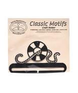 Classic Motifs Life Preserver 6 Inch Charcoal Split Bottom Craft Holder - $13.19