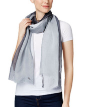 Calvin Klein Two-Tone Scarf (One Size, Black/Two-Tone) - $37.89