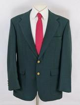 Stafford Men's Blazer Size 42R Green Masters Jacket Gold Buttons Sport Coat - $49.95