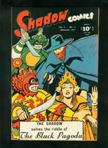 Shadow Comics v.6 #11 1947-BLACK PAGODA-STREET & SMITH-very Fine Minus VF- - $363.75