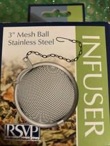 """Stainless Steel 2"" Tea Ball Infuser - $4.99"