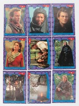 9 1991 Topps Robin Hood Prince of Thieves Stickers- Complete Set! - $3.95