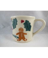Vintage Hartstone Made in USA Christmas Gingerbread man cookie Coffee Mu... - $11.08
