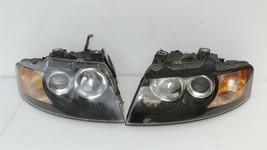 03-06 Audi A4 Cabrio Convertible XENON HID Headlight Head Lights Set L&R