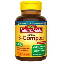 Nature Made Stress B-Complex with Vitamin C and Zinc Tablets, 80 Count - $22.99