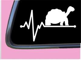 "Tortoise Lifeline TP 233 vinyl 8"" Decal Sticker turtle terrarium rock food - $3.99"