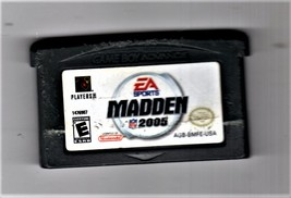 Ninetendo Game Boy Advance - Madden 2005 - $7.00