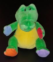 """Gally Alligator Baby Gund Rattle Lovey 7"""" Stuffed Animal Toy Crocodile 5... - $29.65"""