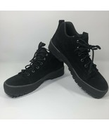 WOMEN'S COLE HAAN WATERPROOF ANDES BLACK LEATHER SHOES F9066 SIZE 9.5 AA... - $20.76