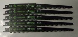 "Greenlee 353-956G 9"" x 6TPI Extreme Ti-Metal Bi-metal Recip Blades 5 Pac... - $7.43"