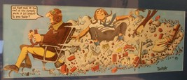 """The Aviator Whimsical 1983 Art Print  by """"Peter"""" 10 x 27"""" Vntg Sealed Ex... - $24.74"""