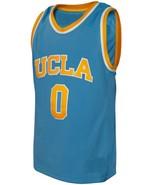 Russell Westbrook #0 College Custom Basketball Jersey Sewn Light Blue An... - $29.99+