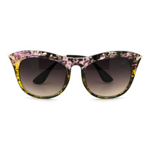 Womens Retro Brow Oversized Cat Eye Horn Rim Designer Fashion Diva Sungl... - £5.70 GBP