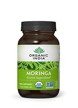 Organic India Moringa Capsules, 90 ct