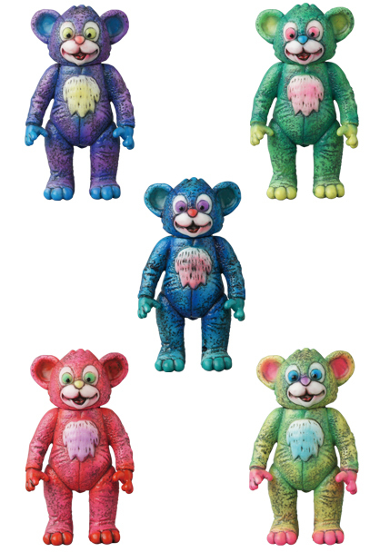 MEDICOM VAG Series 13 VINYL ARTIST GACHA Full set Milk Boy Toys The IT Bear