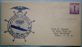 23. August 1942 Wartime Submarine Cachet Mail - $18.00