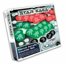 Mantic - Star Saga - Nexus Acrylic Counter Set  -=NEW=- - $18.95