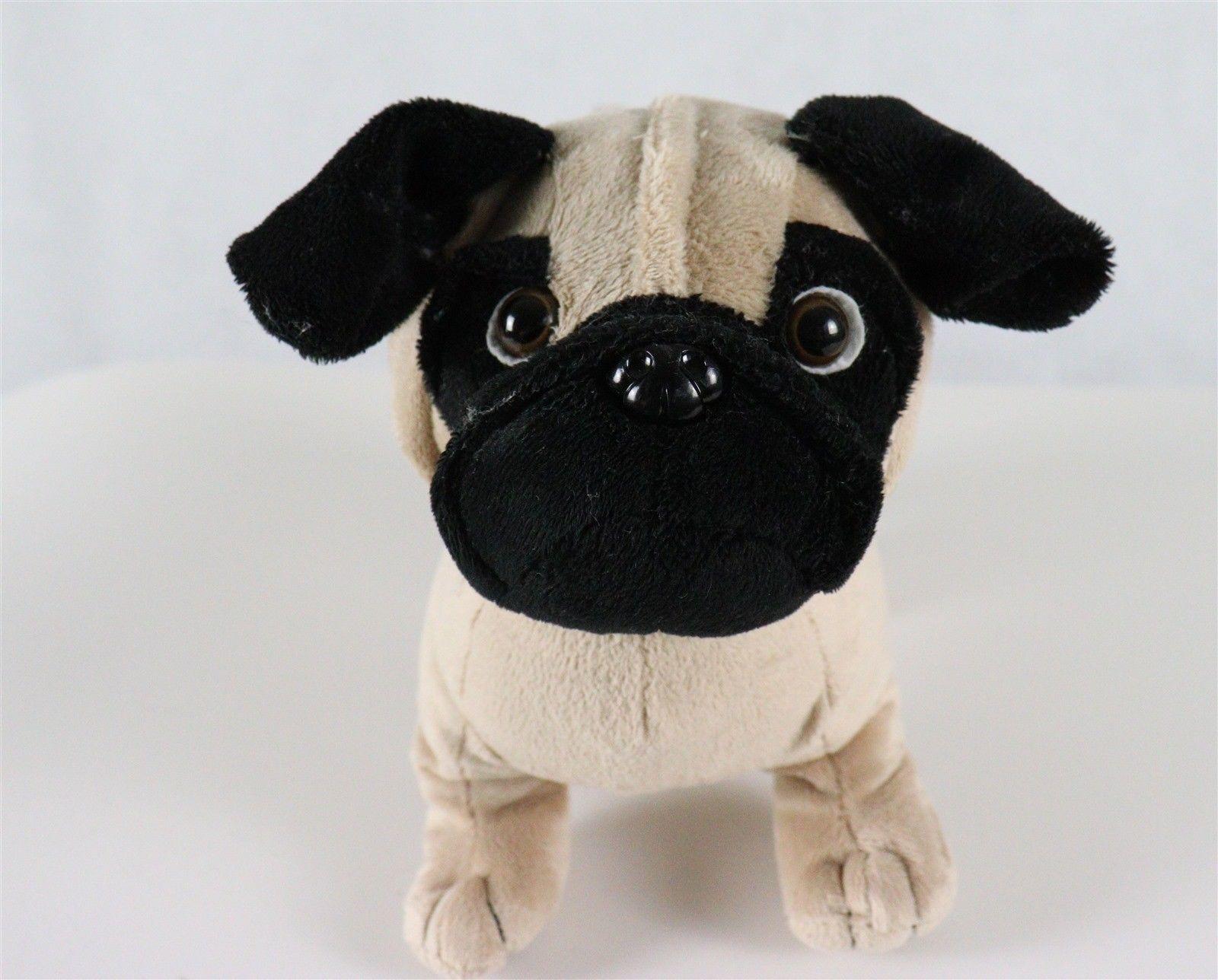 Woof Street Pug Dog Stuffed Plush