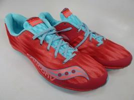 Saucony Kilkenny XC5 Spikeless Size 8 M (B) EU 39 Women's Flat Track Shoes Red