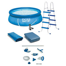 """Intex 15 x48"""" Inflatable Pool with Ladder, Pump and Deluxe Pool Maintenance Kit - £1,173.15 GBP"""