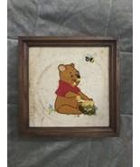 Vintage Winnie the Pooh & Friends Needlepoint Wall Decor - $60.99