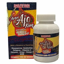 New Improved Formula Artri AJO King Ortiga & Omega 3 Dolor - Joint Suppo... - $19.55